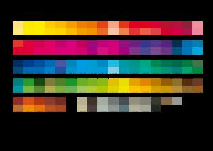HKS-Farbfelder